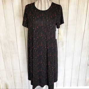 NWT LuLaRoe M Carly Arrow Print Casual Dress